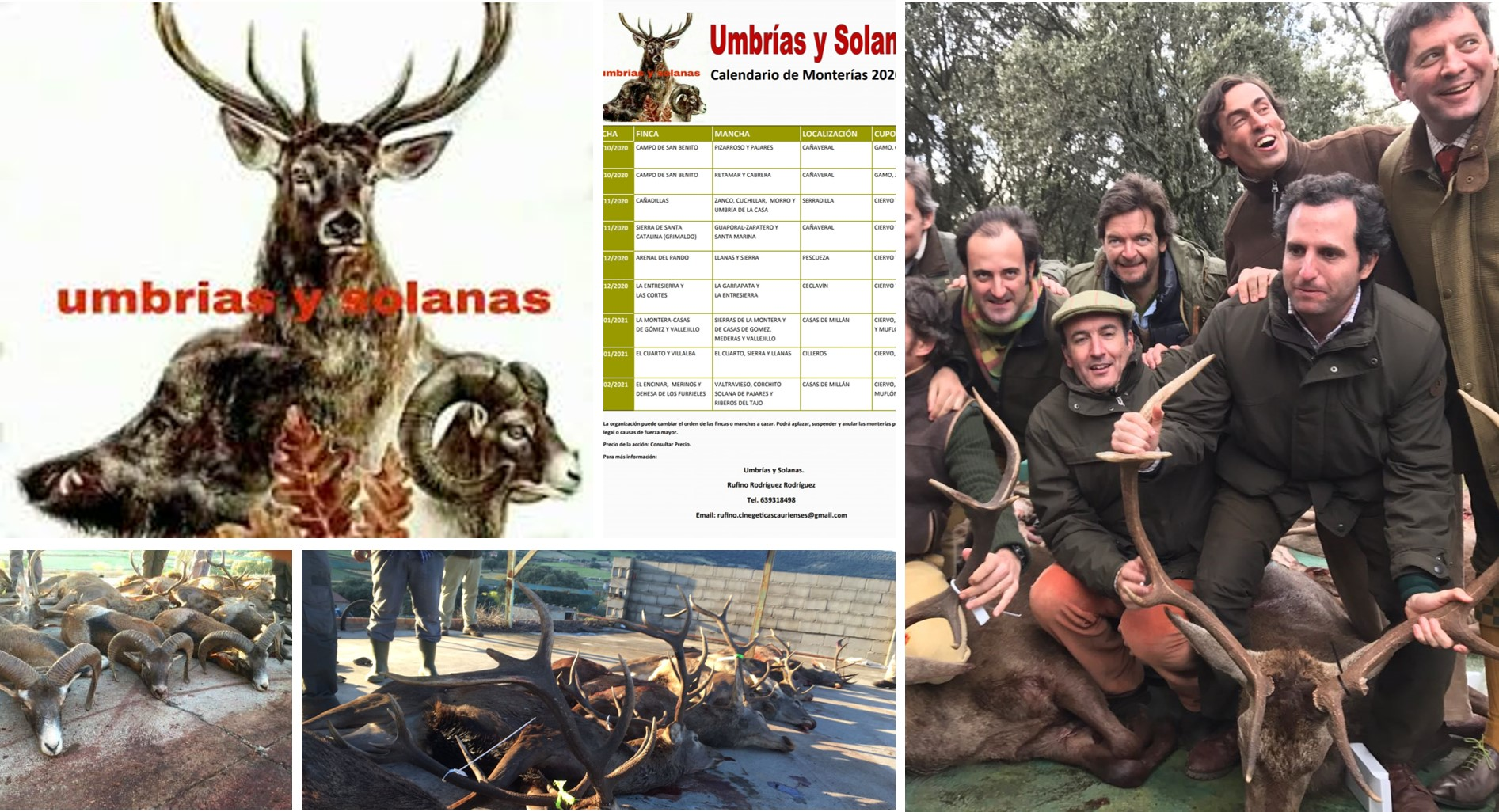 Umbrías y Solanas Calendario Audiovisual 2020/21